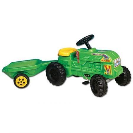 Farmer traktor utánfutóval - Dtoys