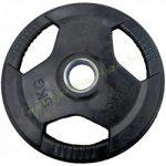 Gumírozott súlyzótárcsa 5 kg 51 mm PRO-SPORT
