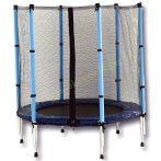 Trambulin 140 cm + védőháló SPARTAN BLUE (2019-es modell)