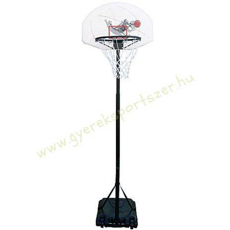 Kosárlabda állvány állítható magasságú 165-205 cm között