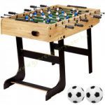 Pro-sport összecsúkható asztalifoci Csocsó asztal, Belfast, fa mintás