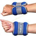 Csukló- és bokasúly (Kéz és lábsúly)  neoprén MOVIT 2x1 kg kék
