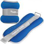 Csukló- és bokasúly (Kéz és lábsúly)  neoprén MOVIT 2x2 kg kék