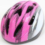 Kerékpáros sisak, védősisak Amaya rózsaszín