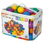 Medencefeltöltő labda INTEX 49600 (100 db 8 cm-es labdával)