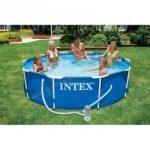 Medence szett Intex Metal Frame fémvázas 305x76 cm vízforgatóval