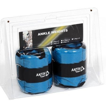 Csukló- és bokasúly (kéz- lábsúly) 2x1 kg kék A-sport