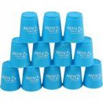 Speed cups sport poharak kék 12 db A-Sport