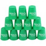 Speed cups sport poharak zöld 12 db A-Sport