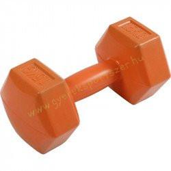 Kézisúlyzó cementes A-sport 1,5 kg narancssárga