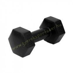 Kézisúlyzó cementes A-sport 1 kg fekete 1db