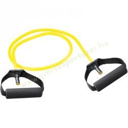Gumikötél szivacs fogantyúval, Erősítő gumikötél sárga Trendy