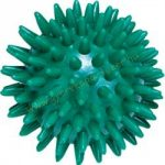 Tüskés masszírozó labda Trendy 7 cm zöld