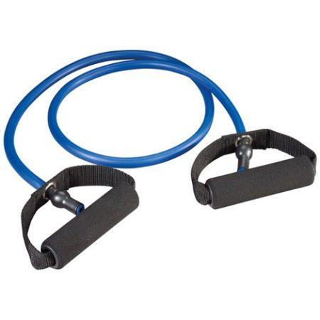 Trendy gumikötél szivacs fogantyúval, Gymtube extra erős kék