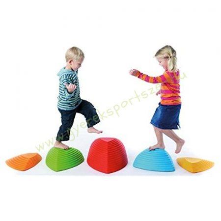 Egyensúlyozó, lépegető fejlesztő színes játék szett GONGE