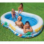 Családi medence sirályokkal - Intex