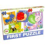 Bébi  első puzzle lepkékkel D-Toys