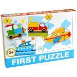 Bébi  First puzzle járművekkel