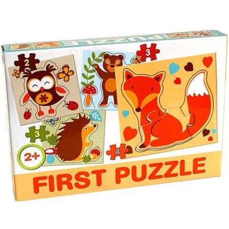 Bébi  First puzzle Erdei állatokkal