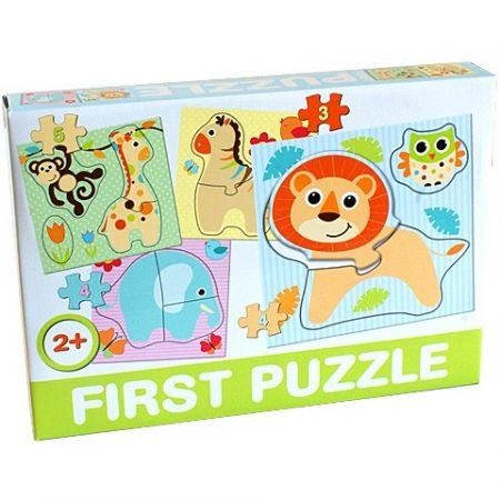 Bébi  első puzzle bébi állatokkal Dohány-Toys