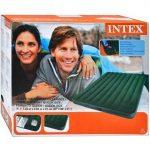 Intex: Queen Downy felfújható kétszemélyes ágy 151x203x22cm