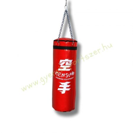 Bokszzsák, Kensho 100x30 cm, piros Boxzsák