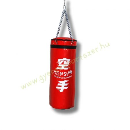 Bokszzsák, Kensho 100x40 cm, piros Boxzsák
