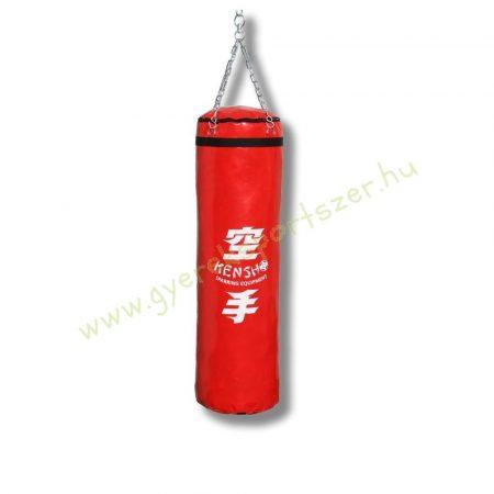 Bokszzsák, Kensho 120x35 cm, piros Boxzsák