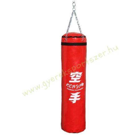 Bokszzsák, Kensho 140x35 cm, piros Boxzsák