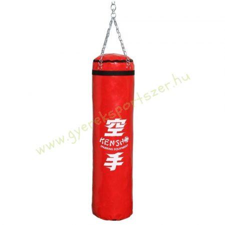 Bokszzsák, Kensho 160x35 cm, piros Boxzsák