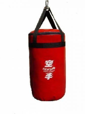 Bokszzsák Kensho 50x30 cm, piros Boxzsák