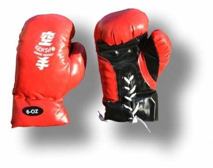 Bokszkesztyű műbőr gyerek boxkesztyű Kensho (6,8,10)