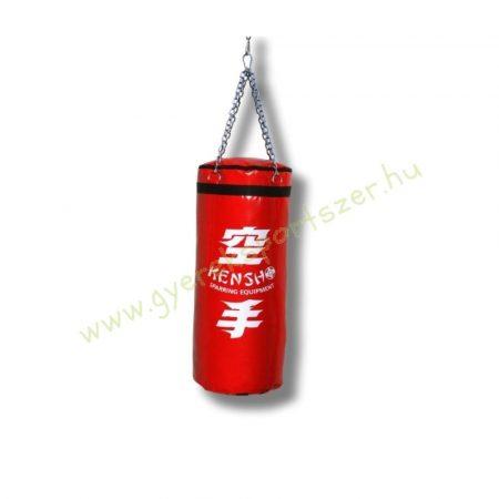 Bokszzsák, Kensho 80x30 cm, piros Boxzsák