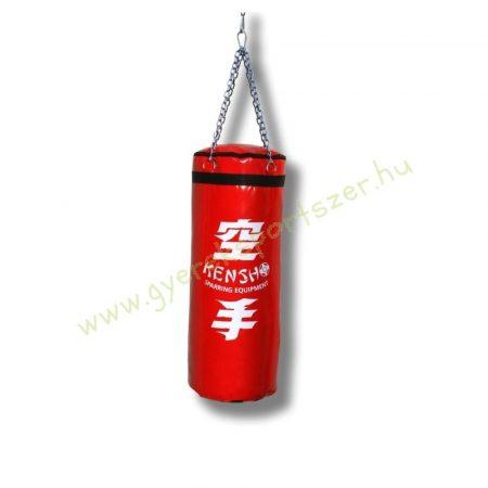 Bokszzsák, Kensho 90x35 cm, piros Boxzsák