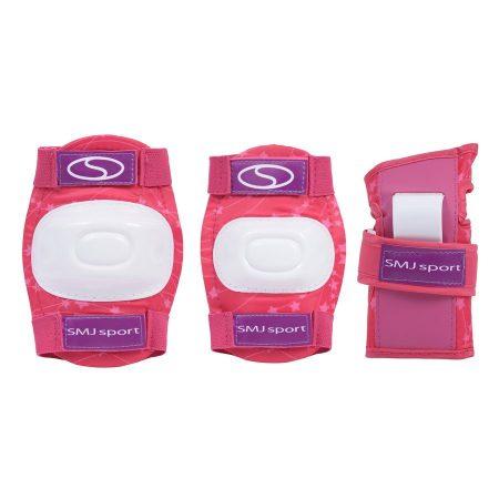 Védőfelszerelés szett CR-600 SMJ Pink gyerek 4-7 éveseknek