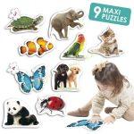 Maxi puzzle - állatok