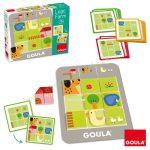 GOULA, Logikus farm -logikai fejlesztő játék feladatkártyákkal