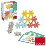 GOULA, Nyuszitorony Építő (feladatkártyákkal)