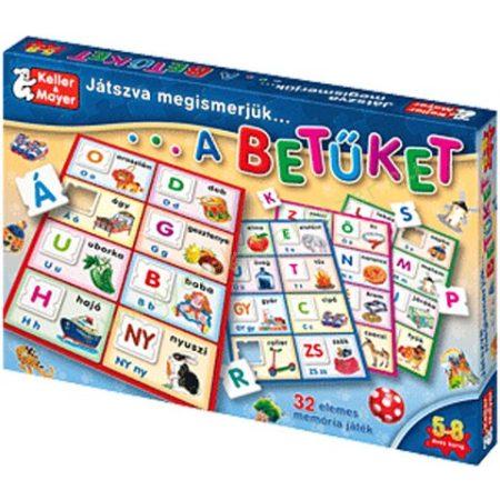 Játszva megismerjük a betüket - fejlesztő társasjáték