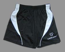 Lancast Syrus férfi futball short - fekete/fehér M-es Méret_AKCIÓS