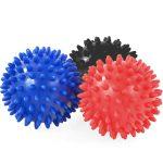 Tüskés masszírozó labda szett (3db) Hard 7,5 cm PRO-SPORT