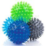 Tüskés masszírozó labda szett 4 db-os 6,5 cm PRO-SPORT