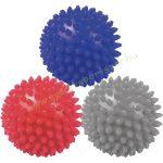 Tüskés masszírozó labda szett (3db) 3 erősségben 7 cm PRO-SPORT