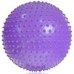 Tüskés masszázs Gimnasztikai labda LILA Érzékelő óriás labda - 75cm PRO-Sport