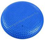 Masszázs és egyensúly párna PRO-SPORT 33 cm Kék