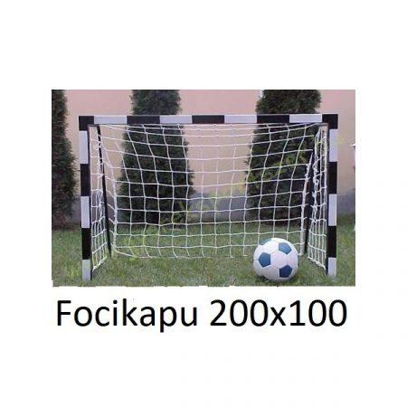 EXTRA Focikapu FÉM 200 x 100cm masszív kivitel, hálóval PRO-SPORT