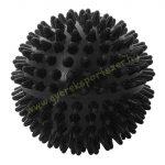Tüskés masszírozó labda Hard 7,5 cm BLACK PRO-SPORT