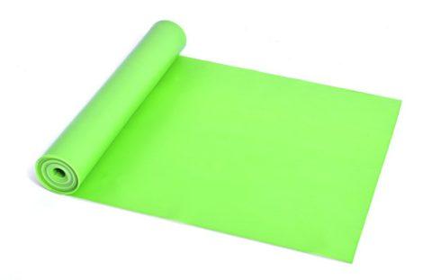 Erősítő gumiszalag, fitnesz szalag, Strech band SMJ Light (Zöld)