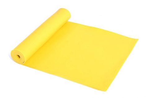 Erősítő gumiszalag, fitnesz szalag, Strech band SMJ Medium (Sárga)