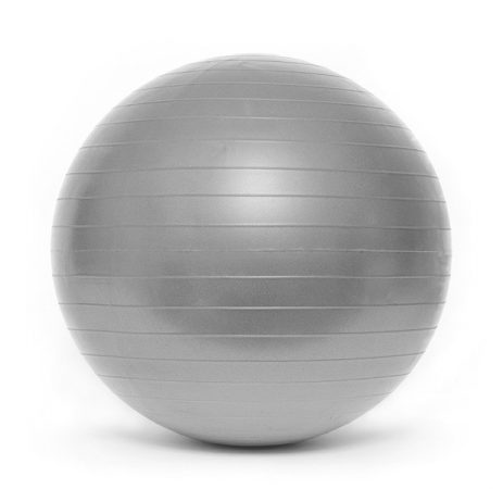 Gimnasztikai labda PREMIUM Durranásmentes 65 cm pumpával SMJ Ezüst
